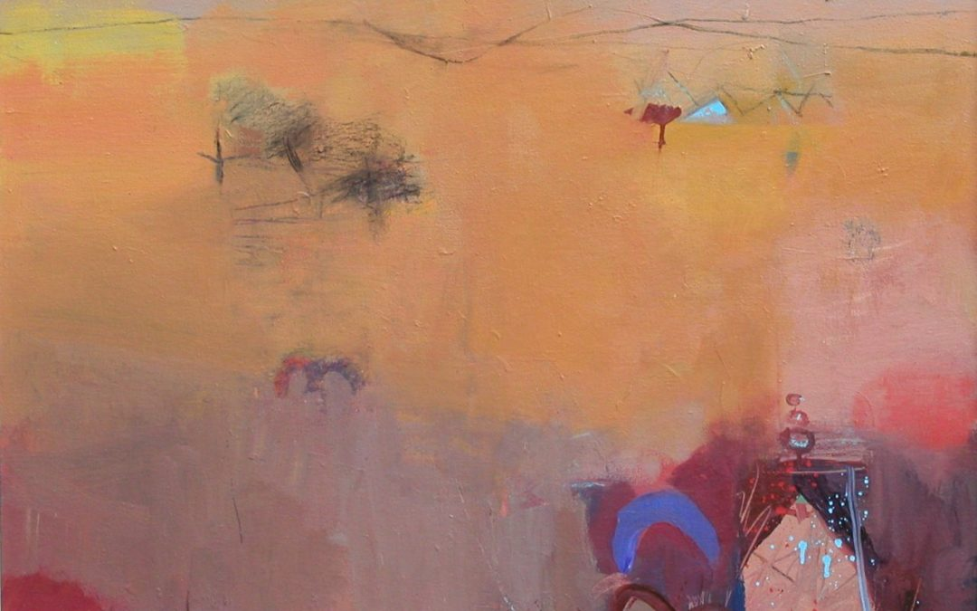 Gerry Dudgeon Rajasthan Heat Haze 76 x 87 cms