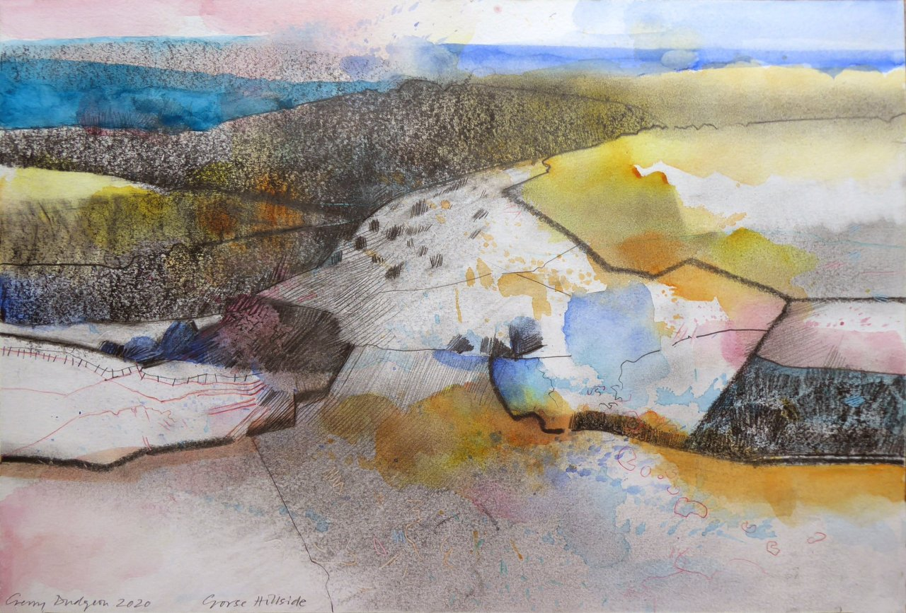 Gerry Dudgeon Gorse Hillside