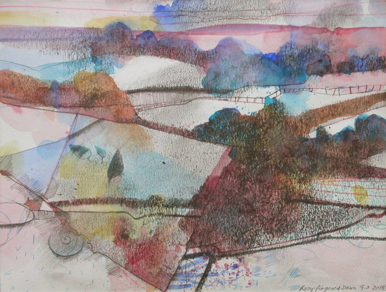 Gerry Dudgeon Rosy-fingered Dawn