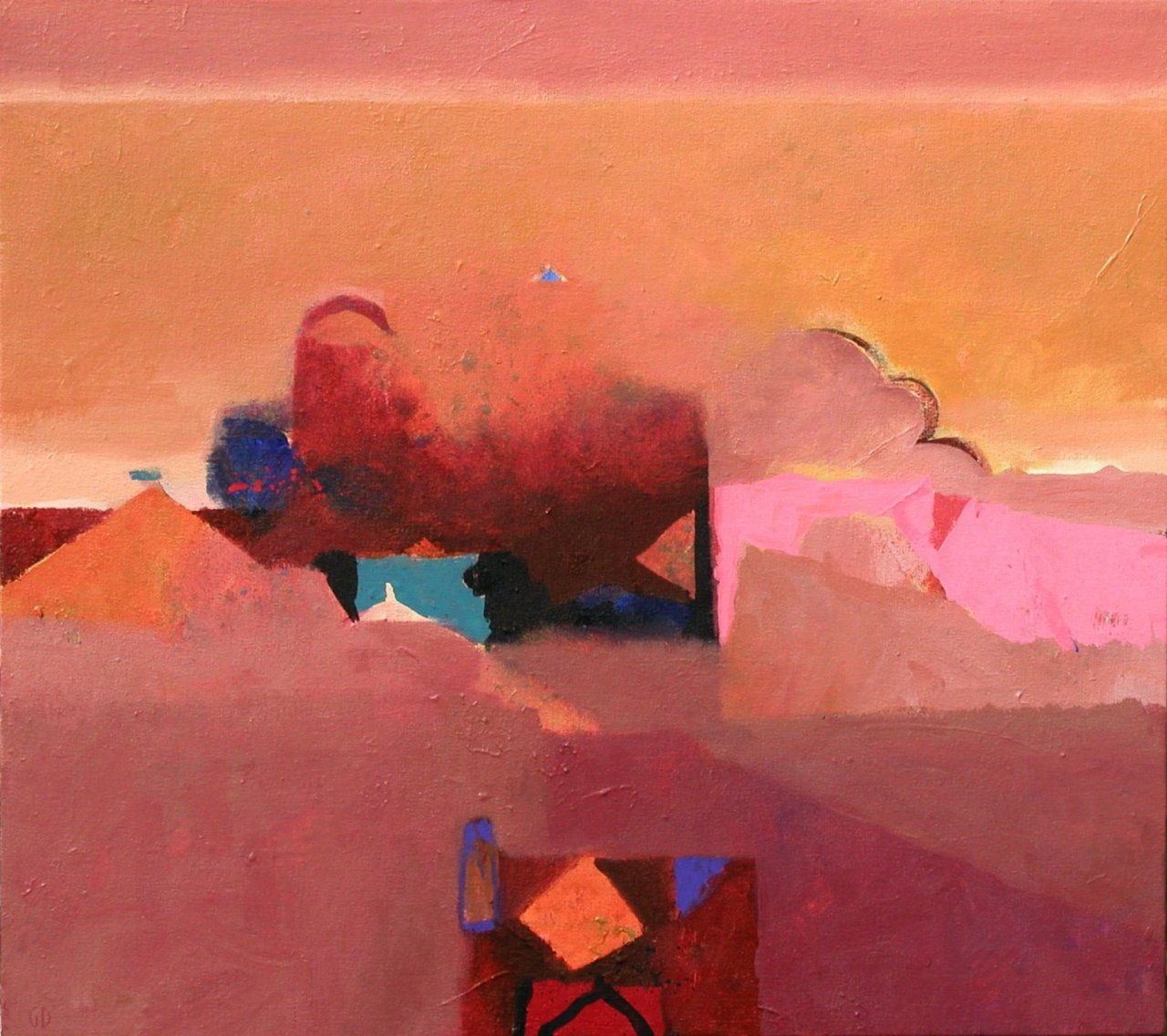 Gerry Dudgeon Dusty Moroccan Pinks