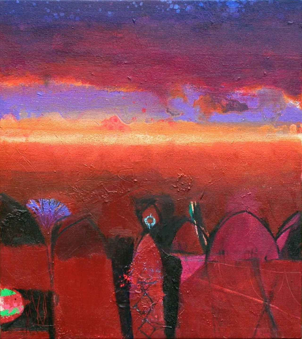Gerry Dudgeon Jaipur Sunset