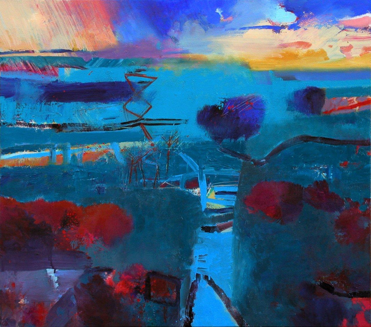 Gerry Dudgeon Gamboge Sky