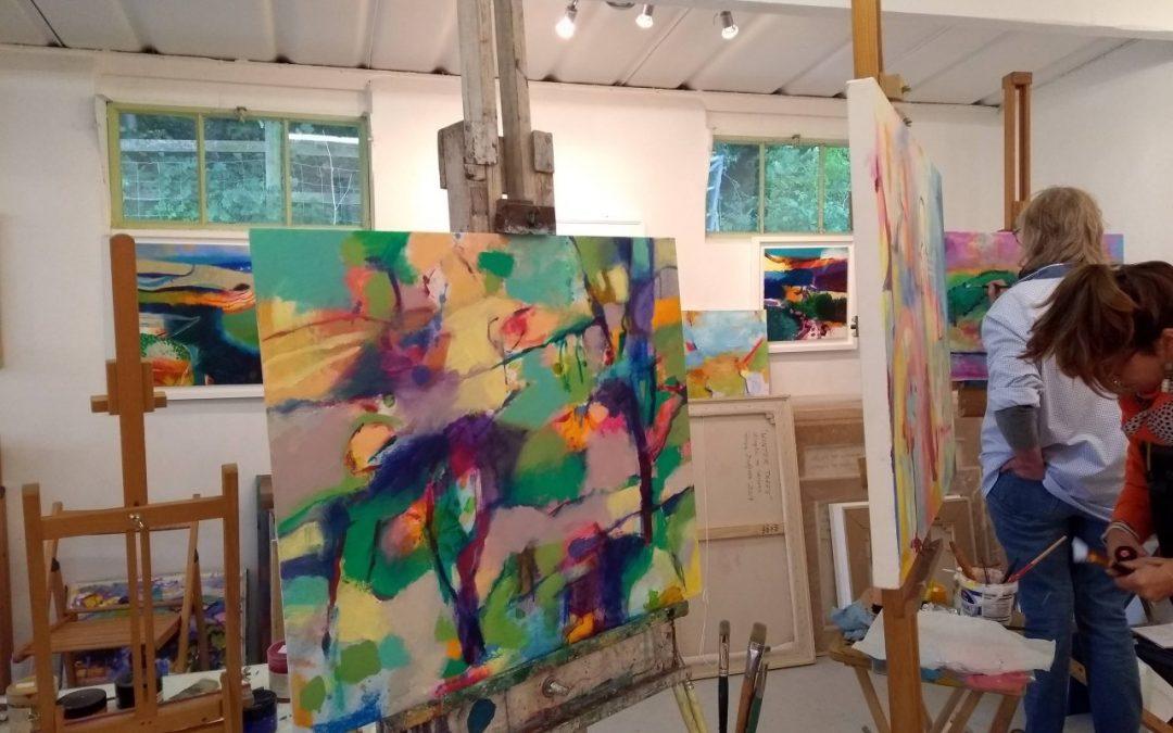 Gerry Dudgeon studio workshop