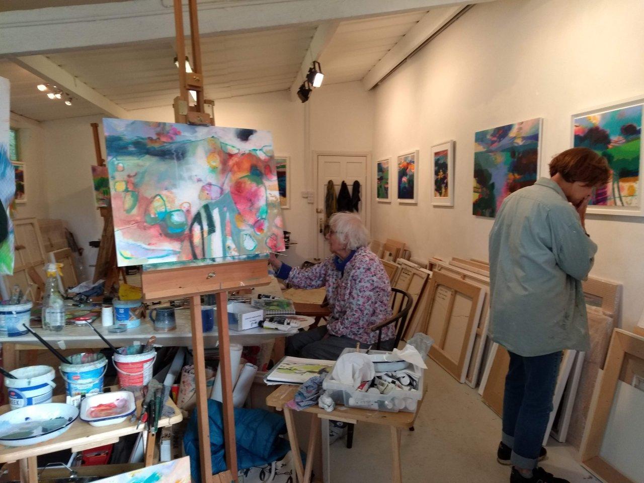 Gerry Dudgeon workshop